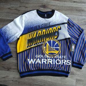 NBA Golden State Warriors Sweatshirt NEW